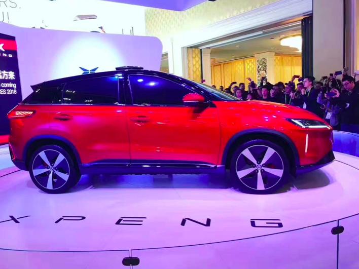小鹏汽车量产车2.0版本亮相 命名G3春季上市
