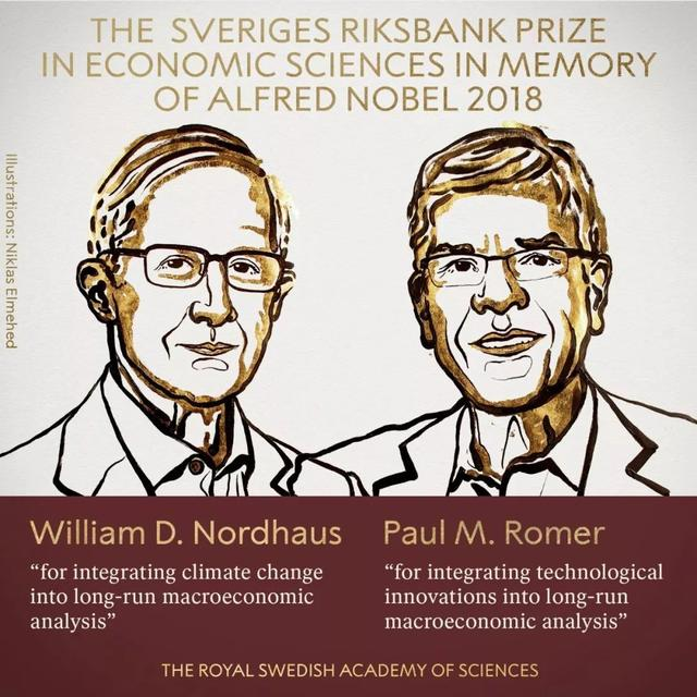 2018诺贝尔经济学奖:市场有两件事做不好,他们指了一条出路   直击诺奖