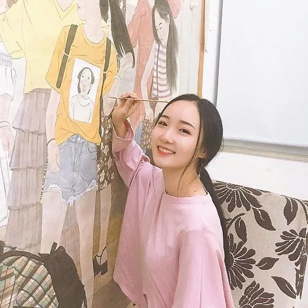 武威本土画家杨华以及其女赵子轩画作入选十三届全国美展